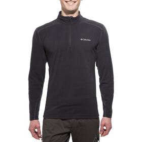 Columbia M's Klamath Range II Half Zip Fleece Jacket Black
